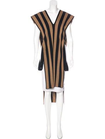 Jean Paul Gaultier Wool Tunic Top w/ Tags None