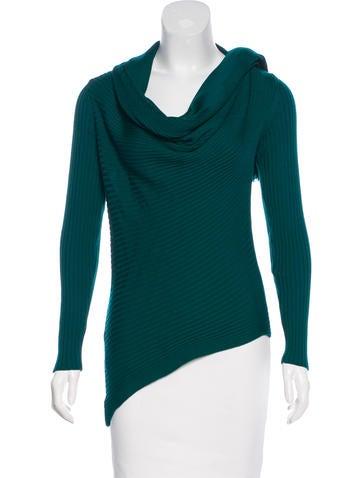 Jean Paul Gaultier Asymmetrical Wool Sweater None
