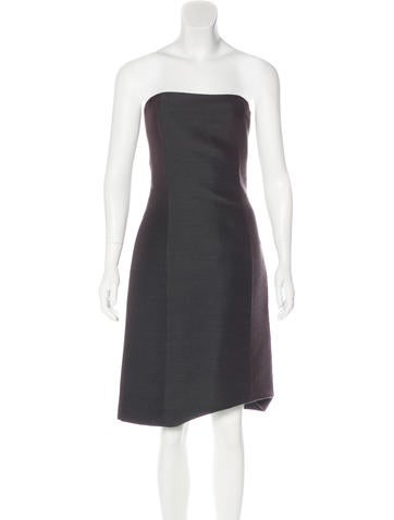 Jean Paul Gaultier Strapless Mini Dress None