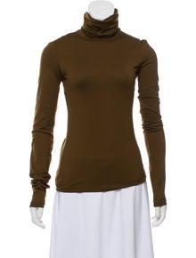 3f6c50e17ae09e Jean Paul Gaultier. Turtleneck Long Sleeve Top