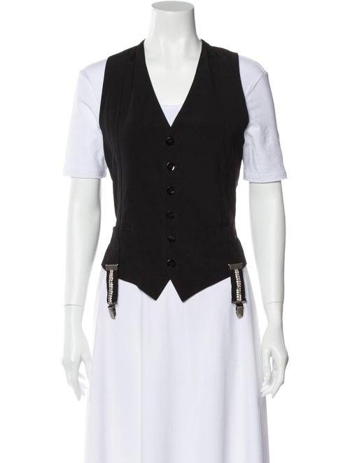 Jean Paul Gaultier Vest Black