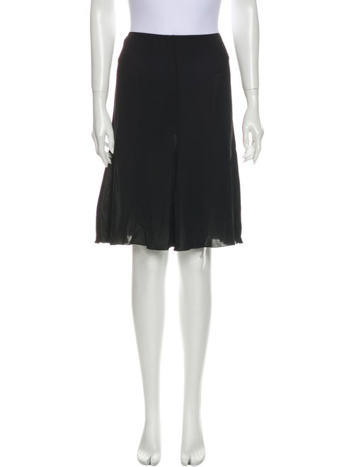 Jean Paul Gaultier Knee-Length Skirt Black