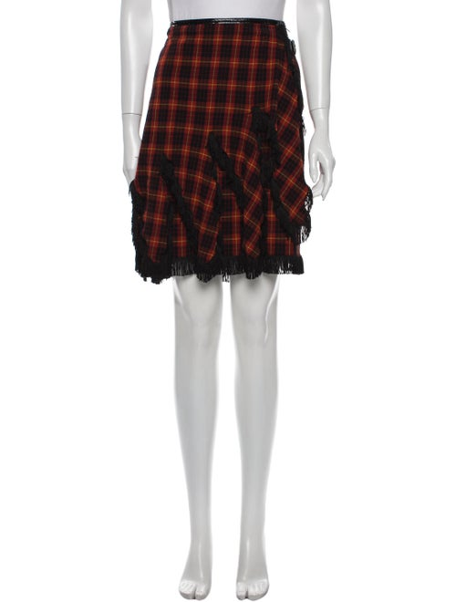 Jean Paul Gaultier Virgin Wool Knee-Length Skirt W