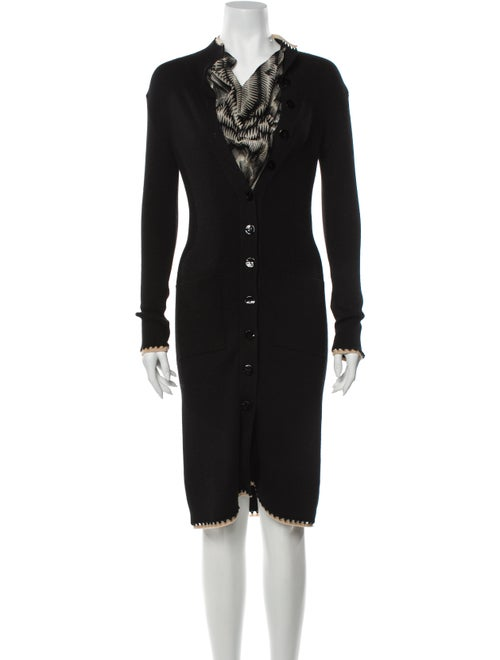 Jean Paul Gaultier Virgin Wool Knee-Length Dress W