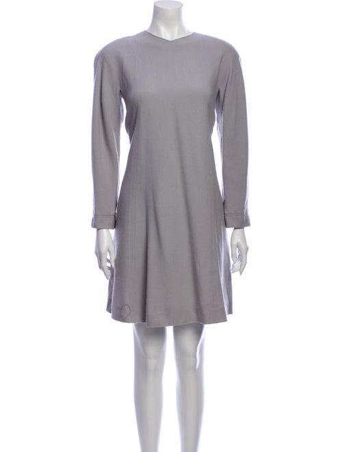 Jean Muir Wool Mini Dress Wool