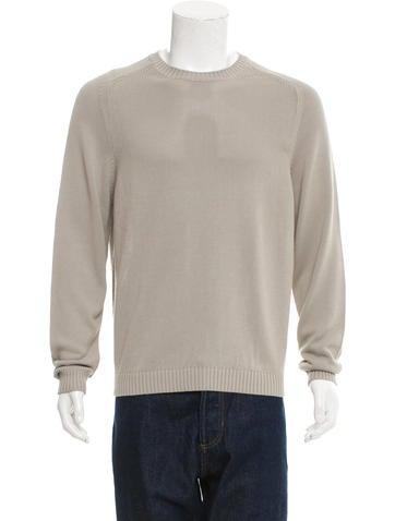 Jeffery Rüdes Knit Crew Neck Sweater None
