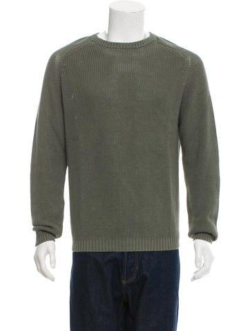 Jeffery Rüdes Linen Crew Neck Sweater w/ Tags None