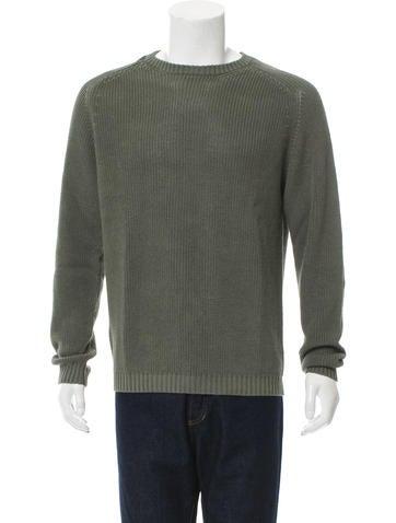 Jeffery Rüdes Linen Crew Neck Sweater None