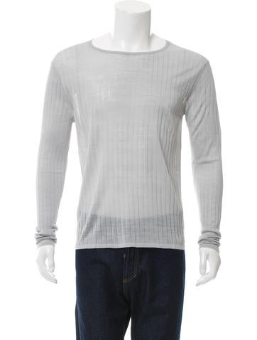 Jeffrey Rüdes Silk Rib Knit Sweater w/ Tags None