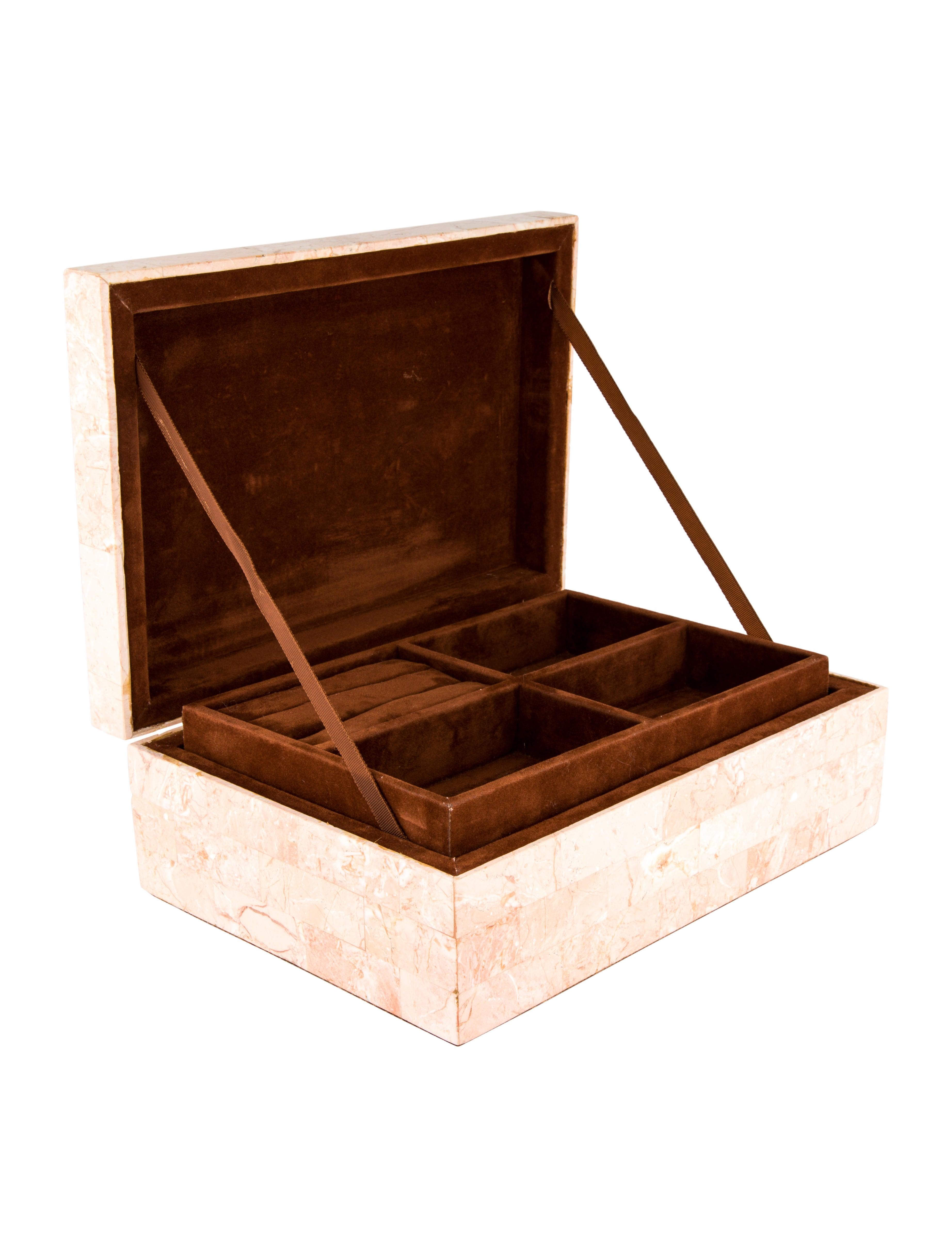 Marble Jewelry Box Decor And Accessories Jelbx20010