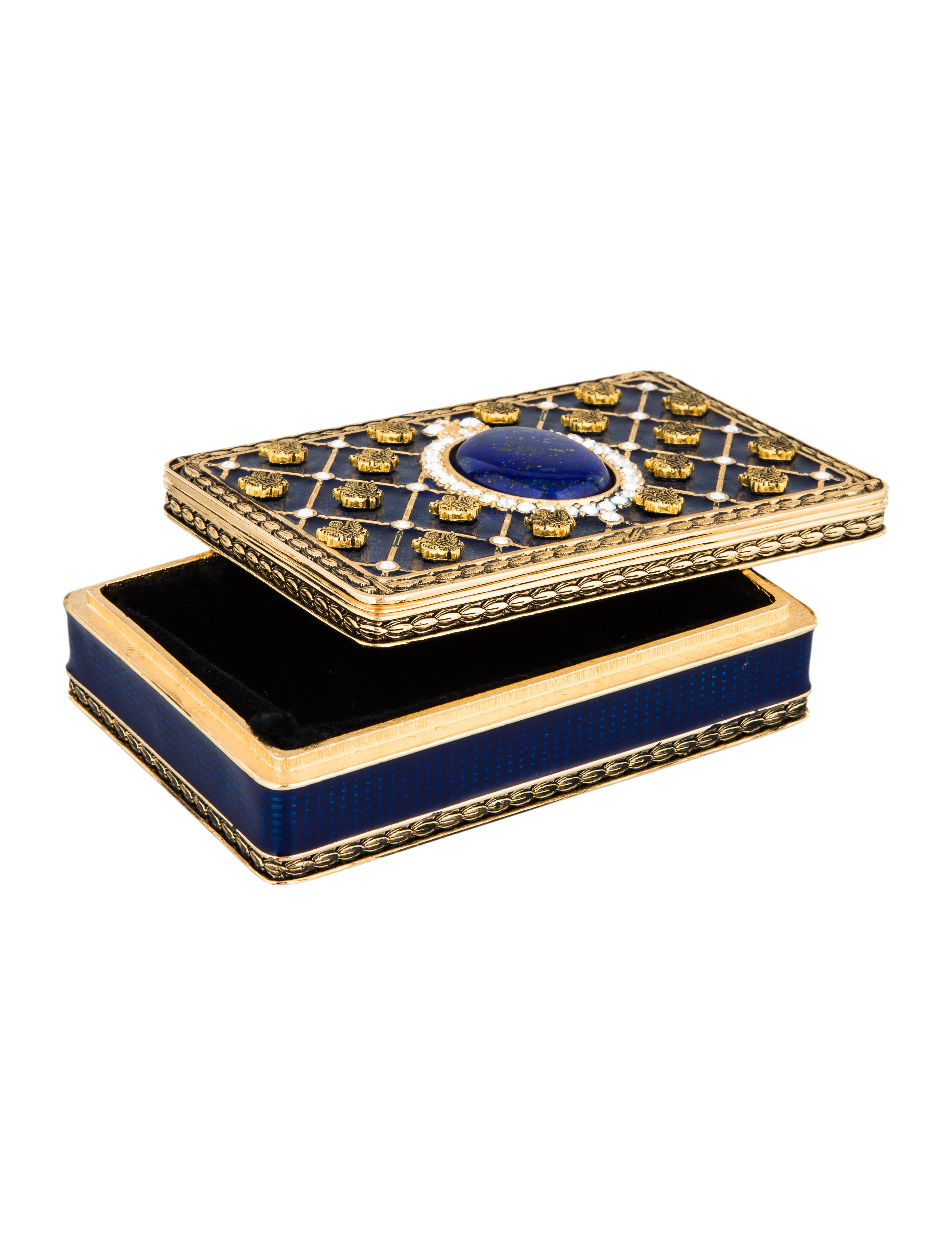 Ann Hand Embellished Jewelry Box Decor And Accessories