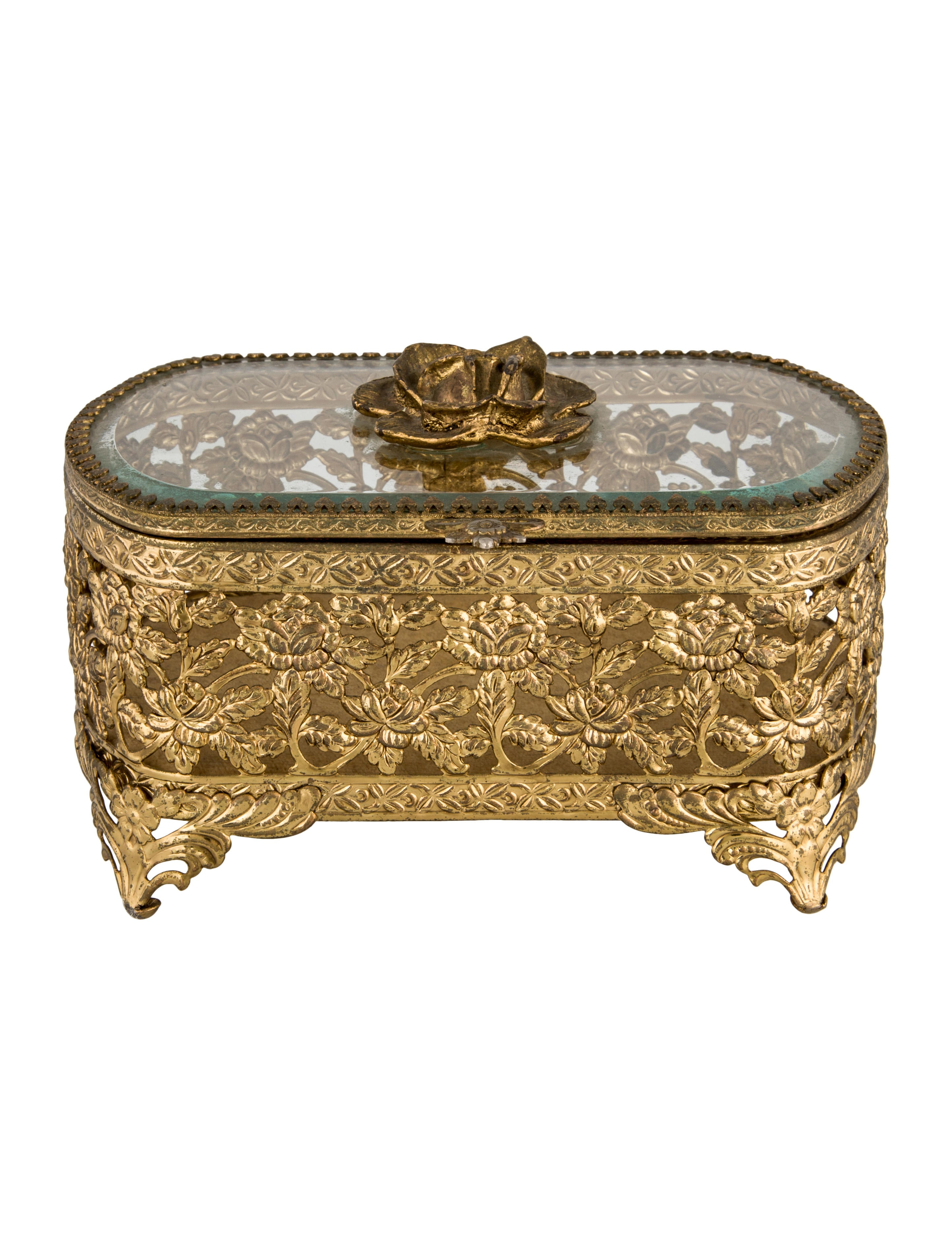 Vintage Jewelry Boxes Decor And Accessories Jelbx20016