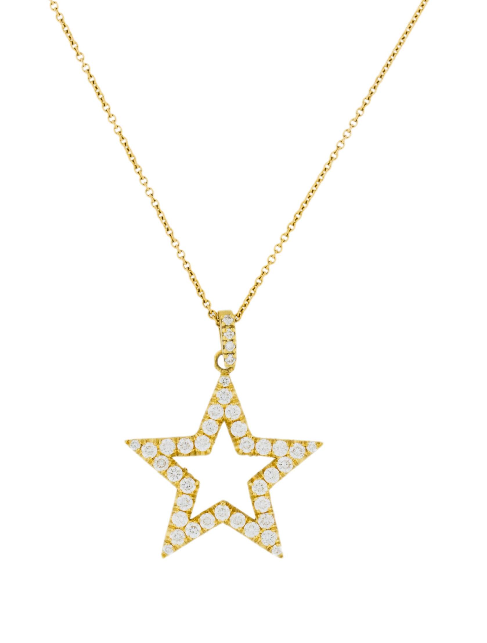 Jennifer meyer open star pendant necklace necklaces jem20322 open star pendant necklace aloadofball Choice Image