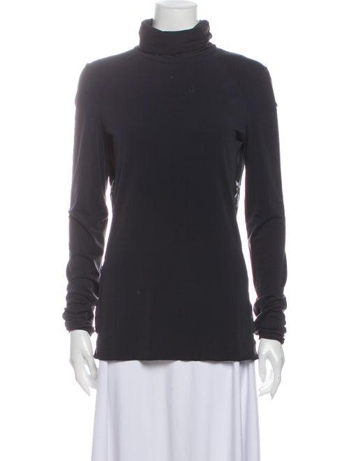 Jet Set Turtleneck Long Sleeve Sweatshirt Black