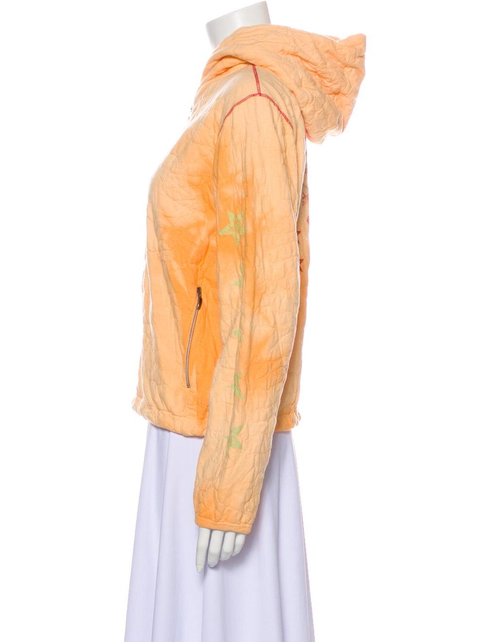 Jet Set Bomber Jacket Orange - image 2