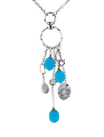 Menari Dangling Turquoise Pendant