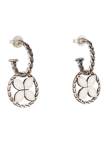 John hardy enamel kawung earrings earrings jha21542 for John hardy jewelry earrings
