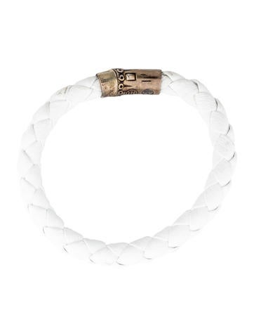Bamboo Woven Leather Bracelet