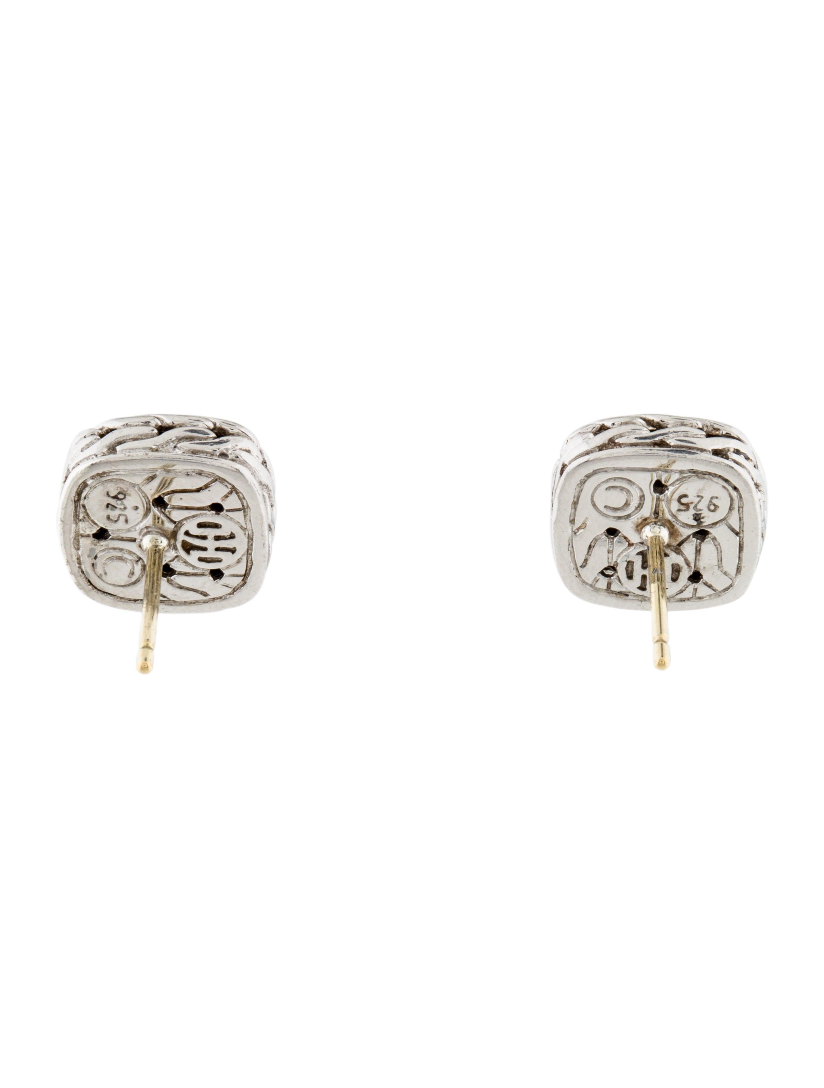 John hardy classic chain stud earrings earrings for John hardy jewelry earrings