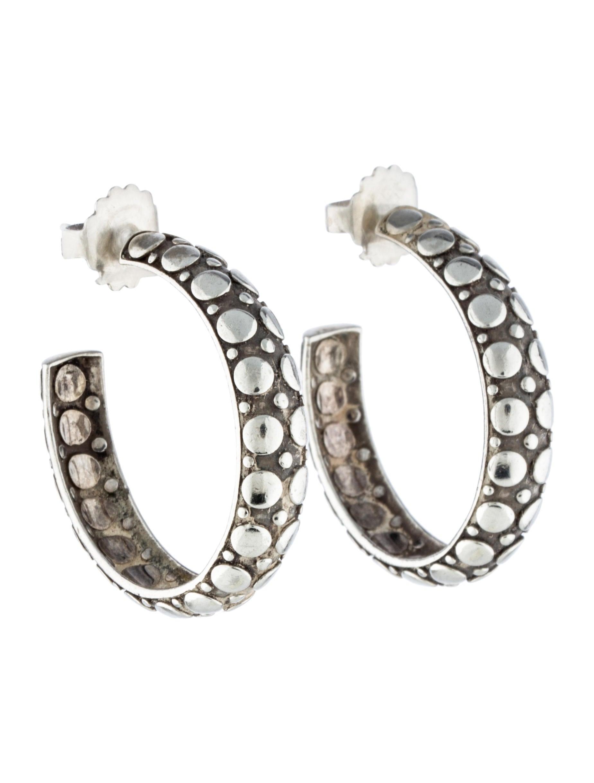 John hardy dot hoop earrings earrings jha25926 the for John hardy jewelry earrings
