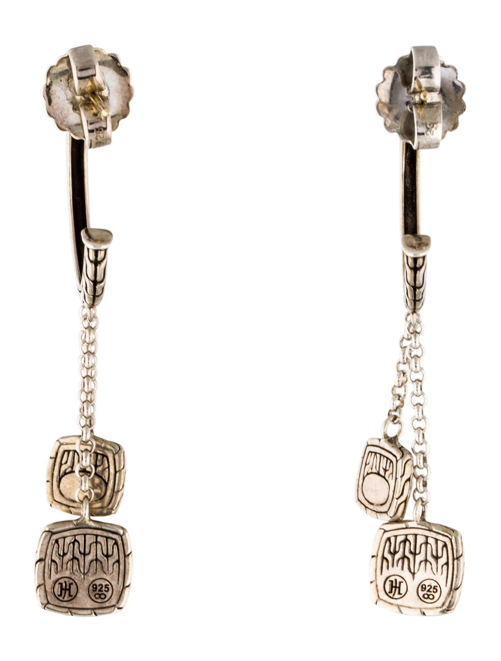John hardy classic chain hoop earrings earrings for John hardy jewelry earrings
