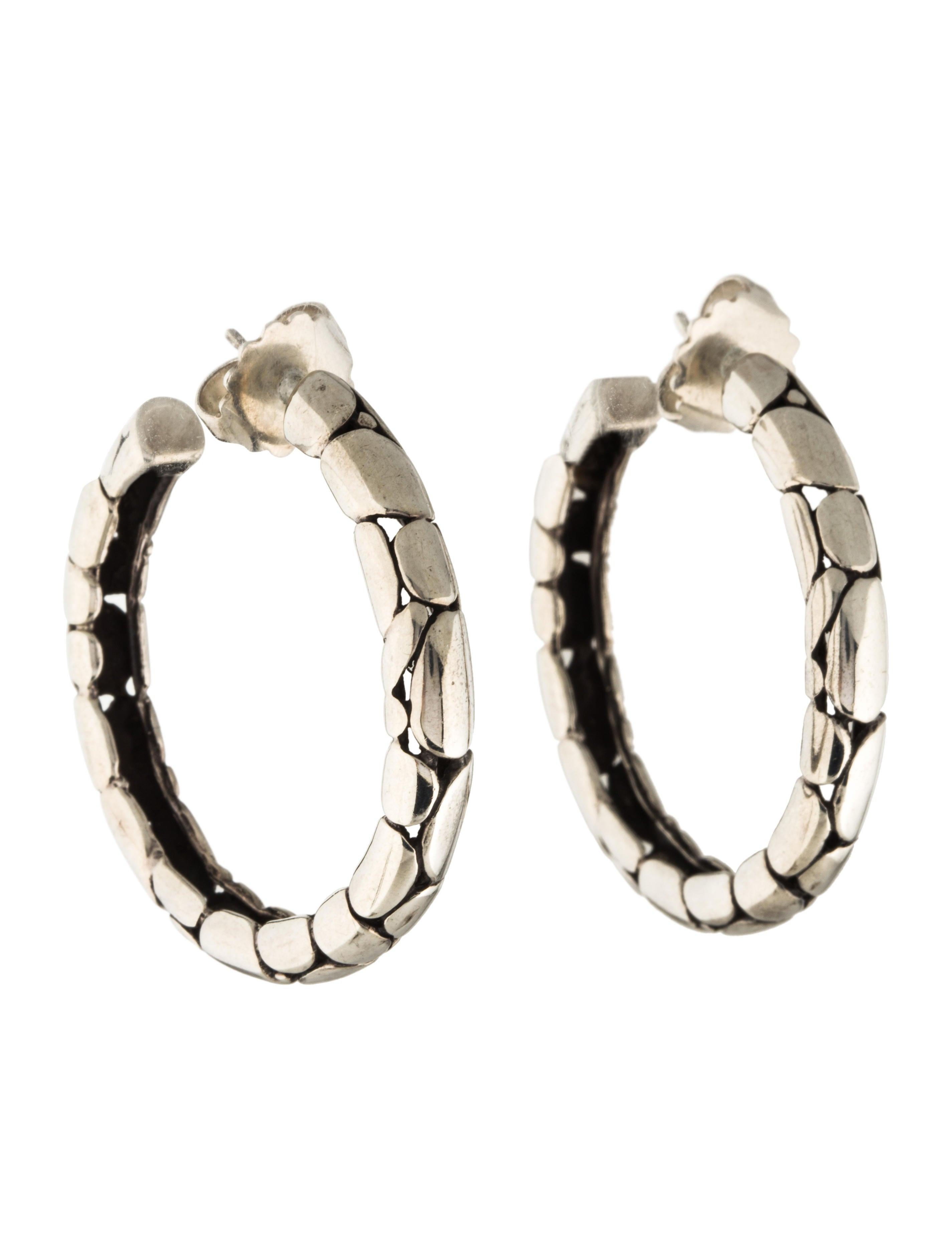 John hardy kali medium hoop earrings earrings jha26396 for John hardy jewelry earrings