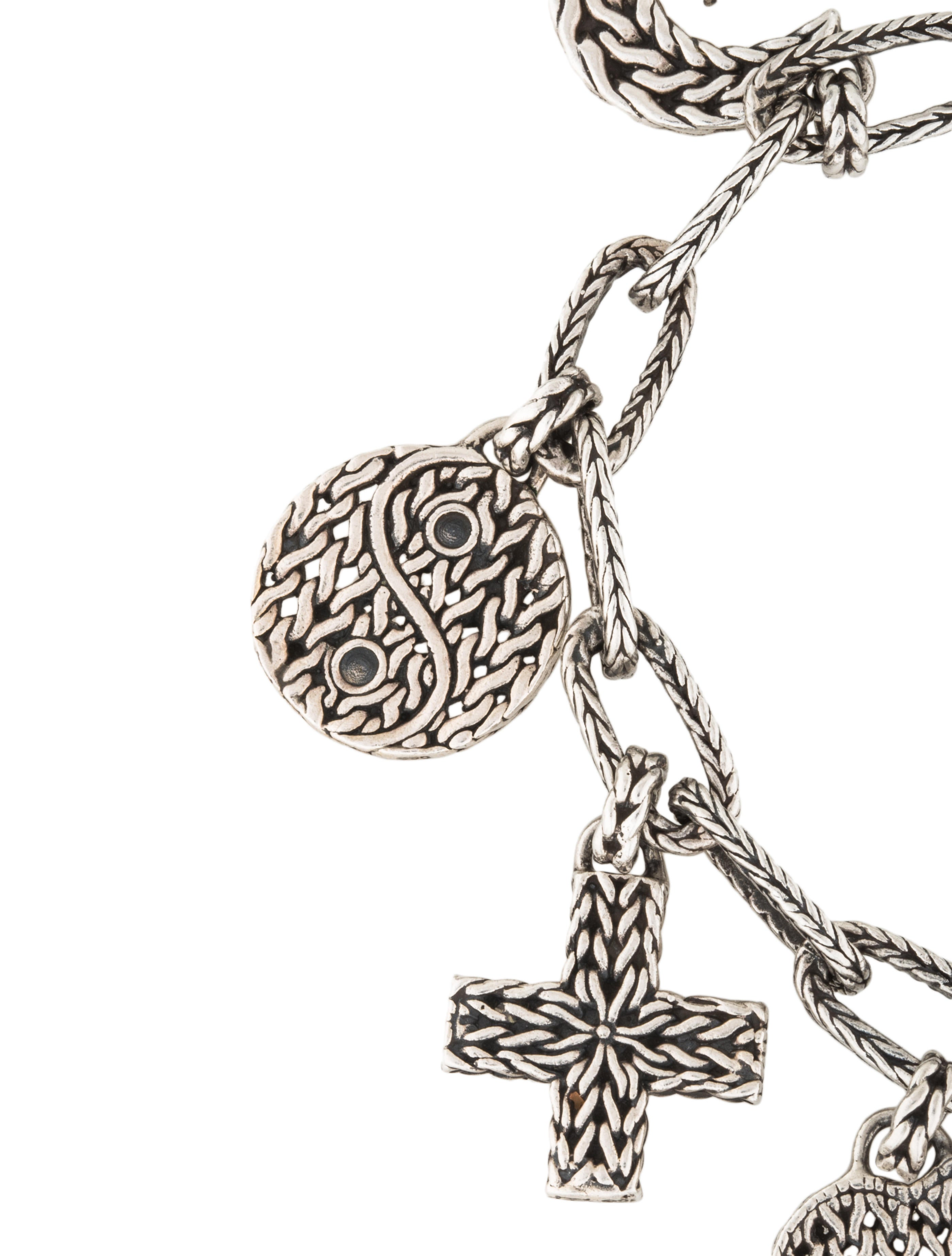 John Hardy Faith Charm Bracelet Bracelets Jha26592