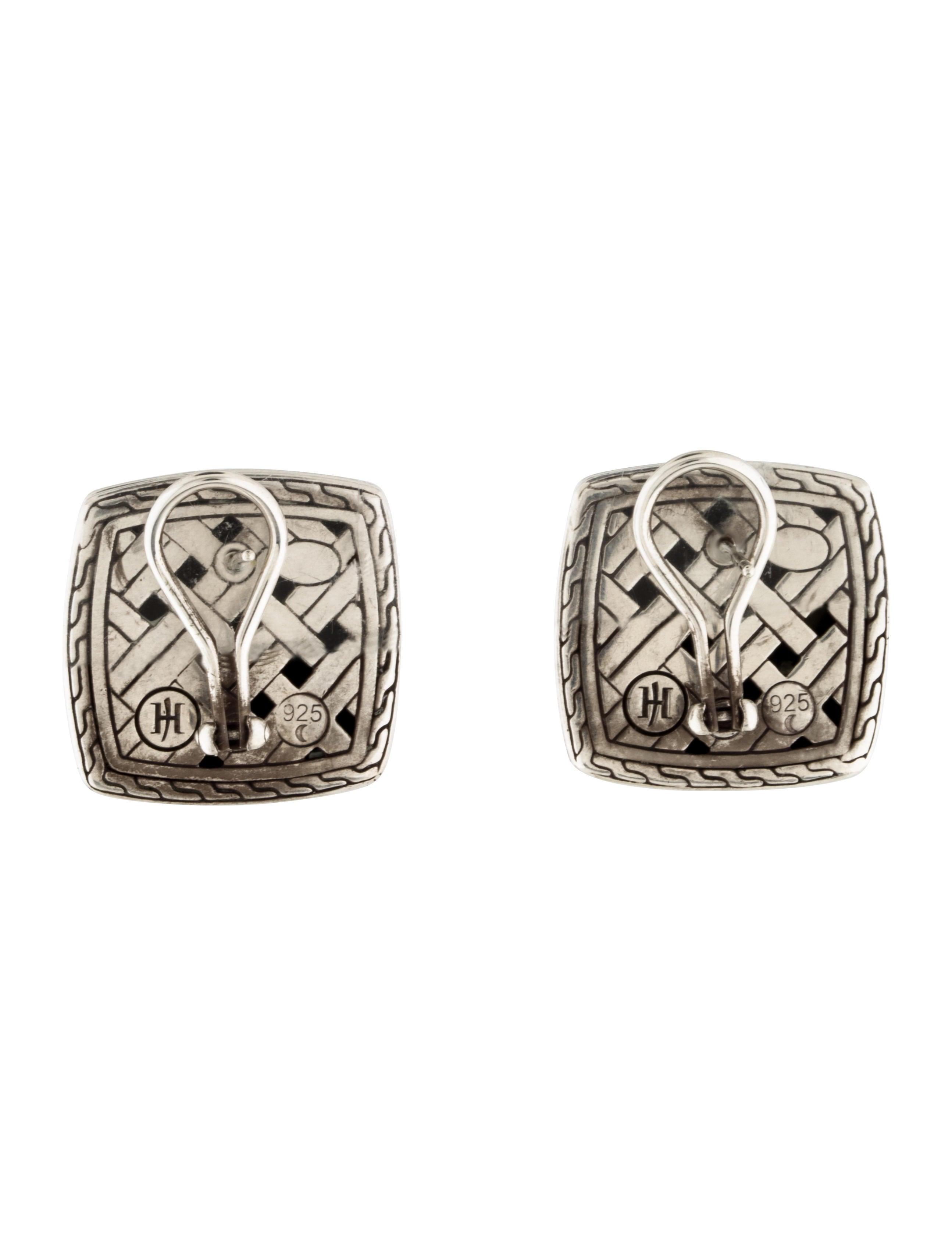 John hardy square earrings earrings jha26622 the for John hardy jewelry earrings