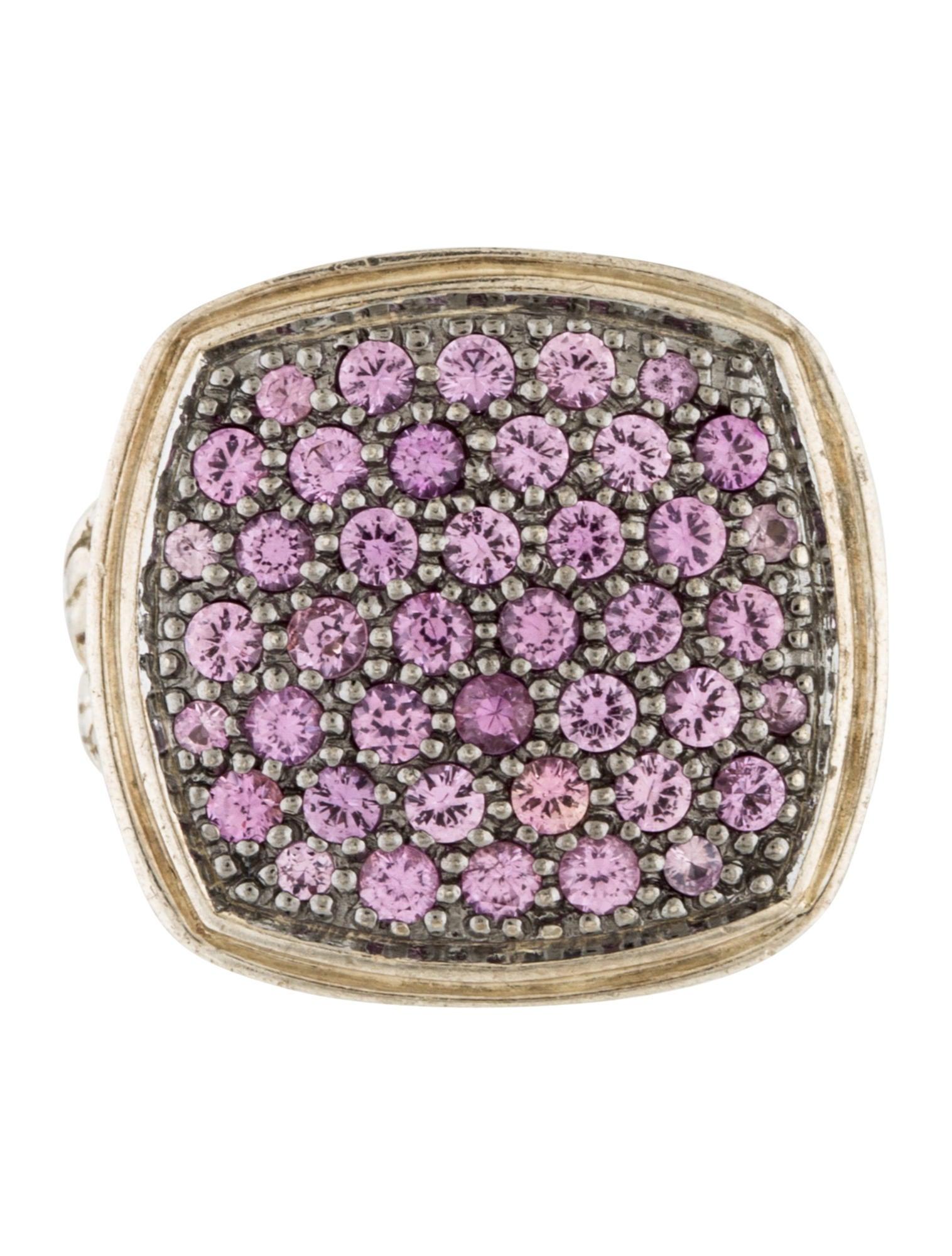 John Hardy Pink Sapphire Classic Chain Ring - Rings ...