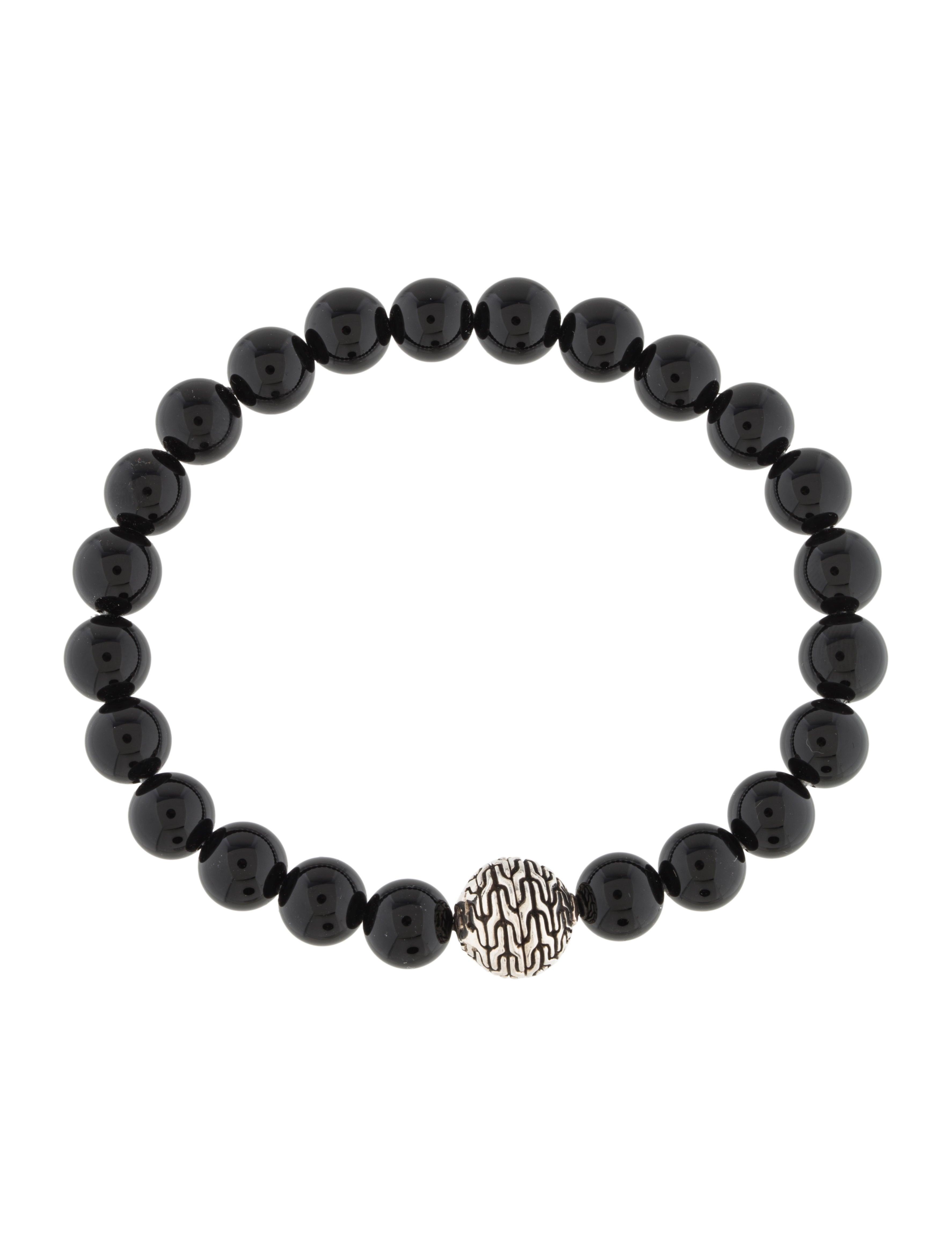 hardy onyx bead bracelet bracelets jha26747 the