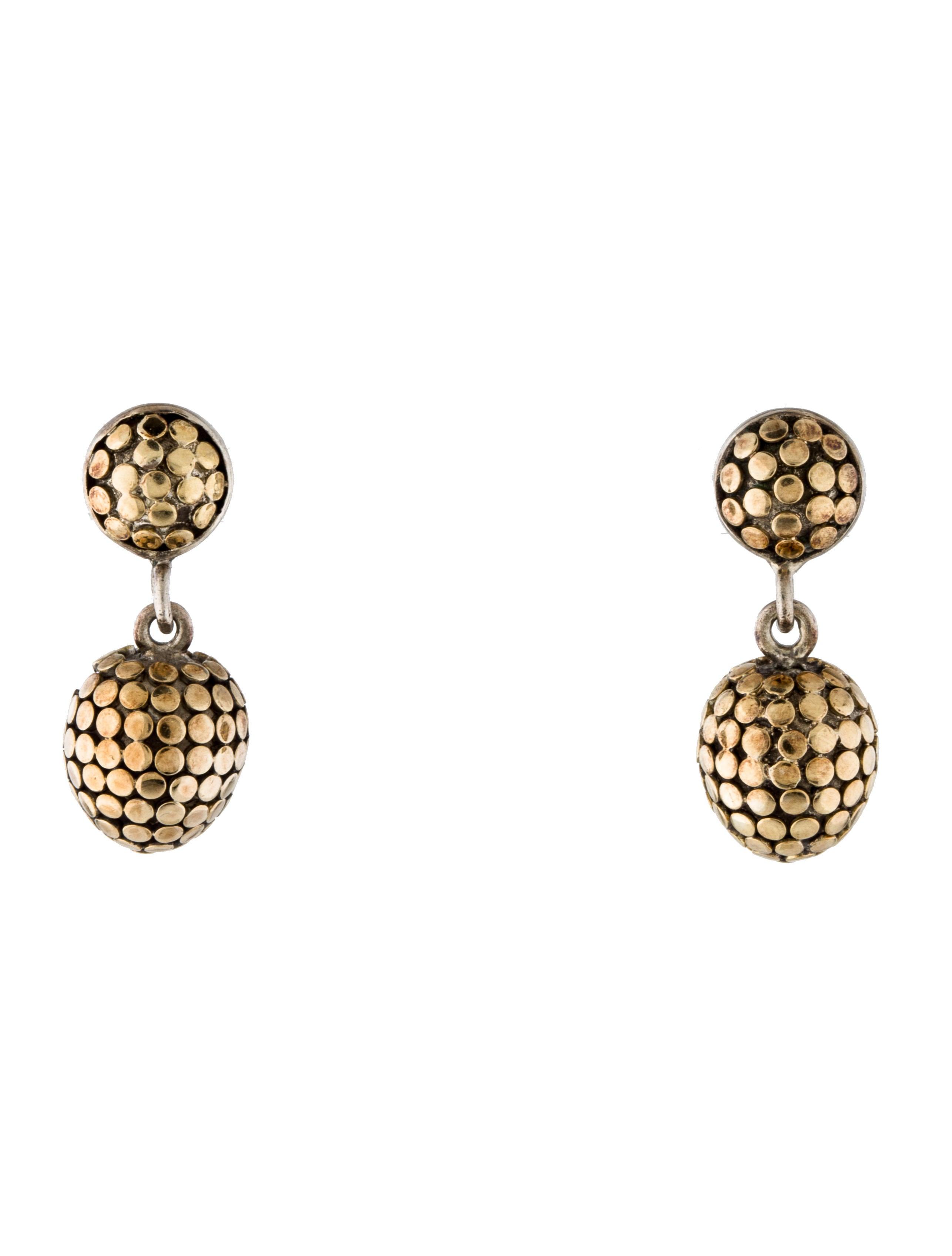 John hardy dot drop earrings earrings jha26940 the for John hardy jewelry earrings