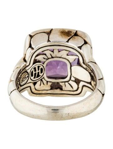 John Hardy Amethyst Batu Kali Ring Rings Jha26948
