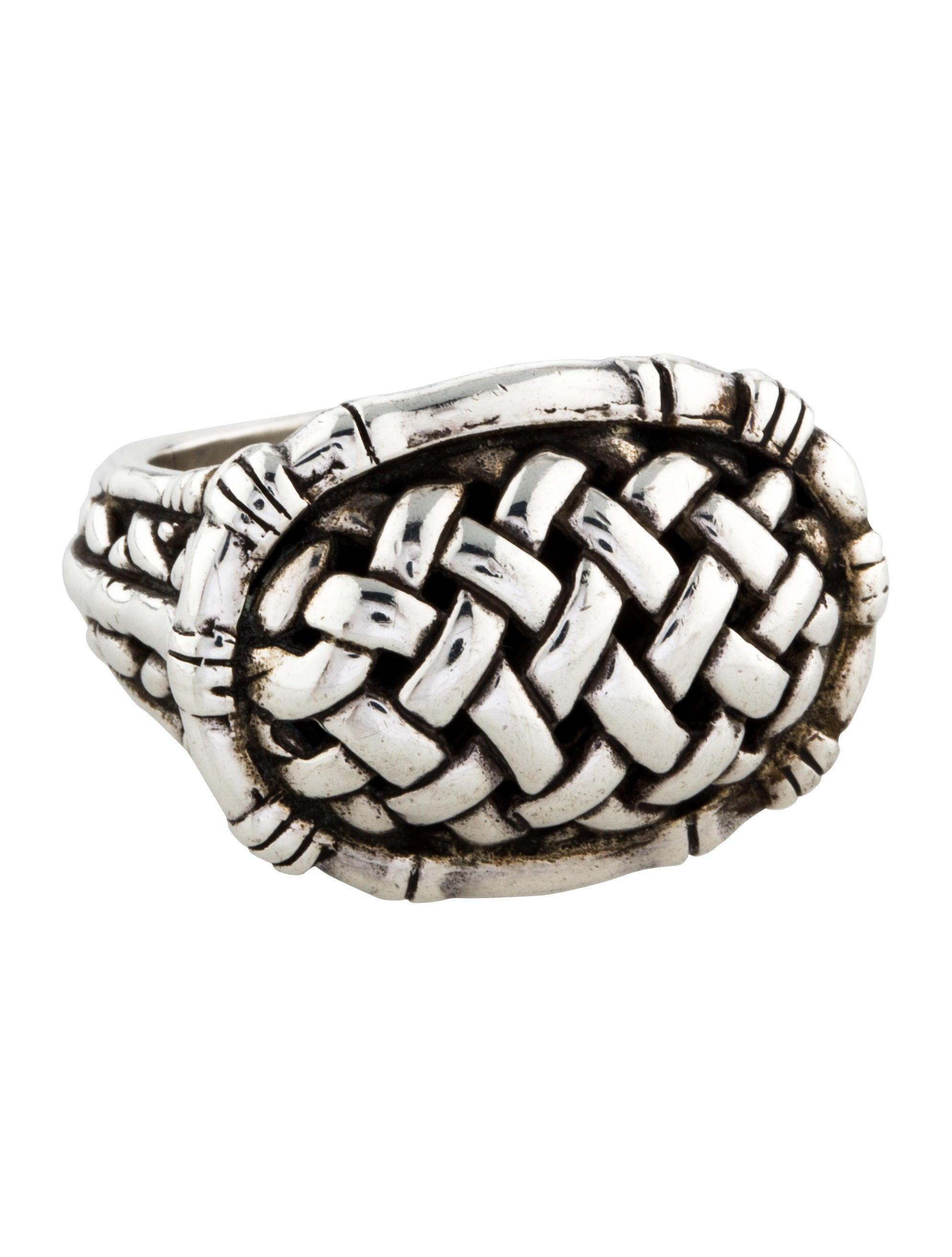 Basket Weaving Jewelry : John hardy basket weave ring rings jha the realreal