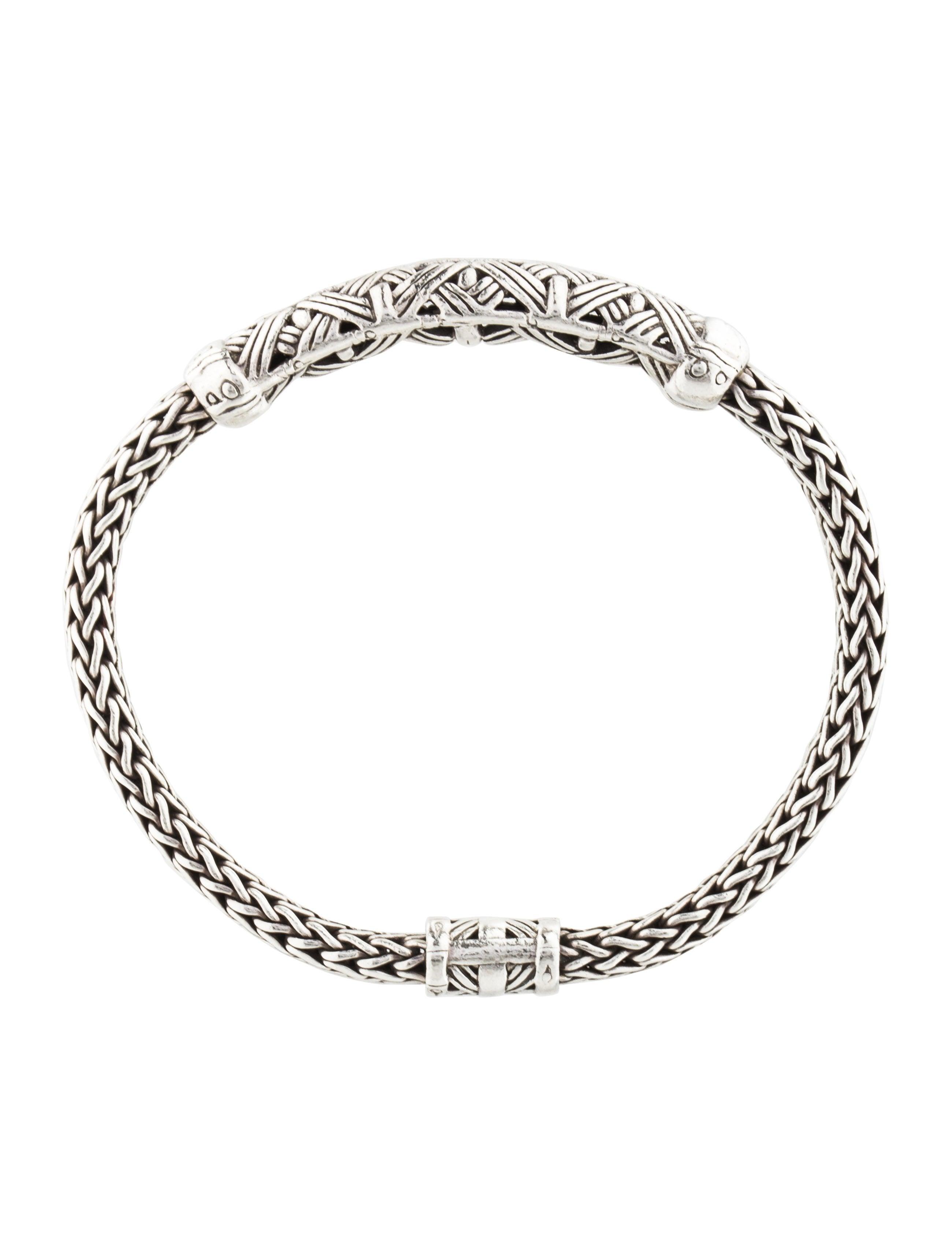 John Hardy Classic Chain Woven Bamboo Bracelet Bracelets
