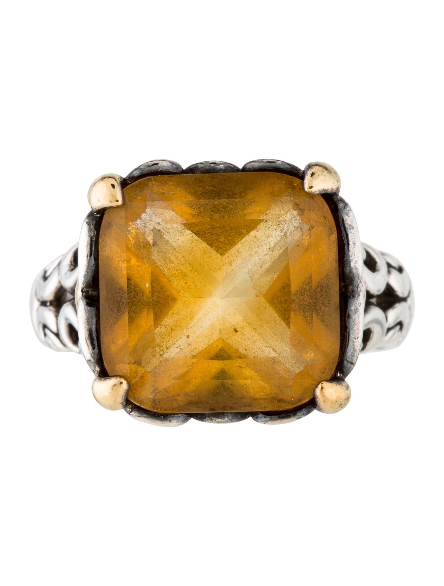 john hardy citrine cocktail ring rings jha27183 the
