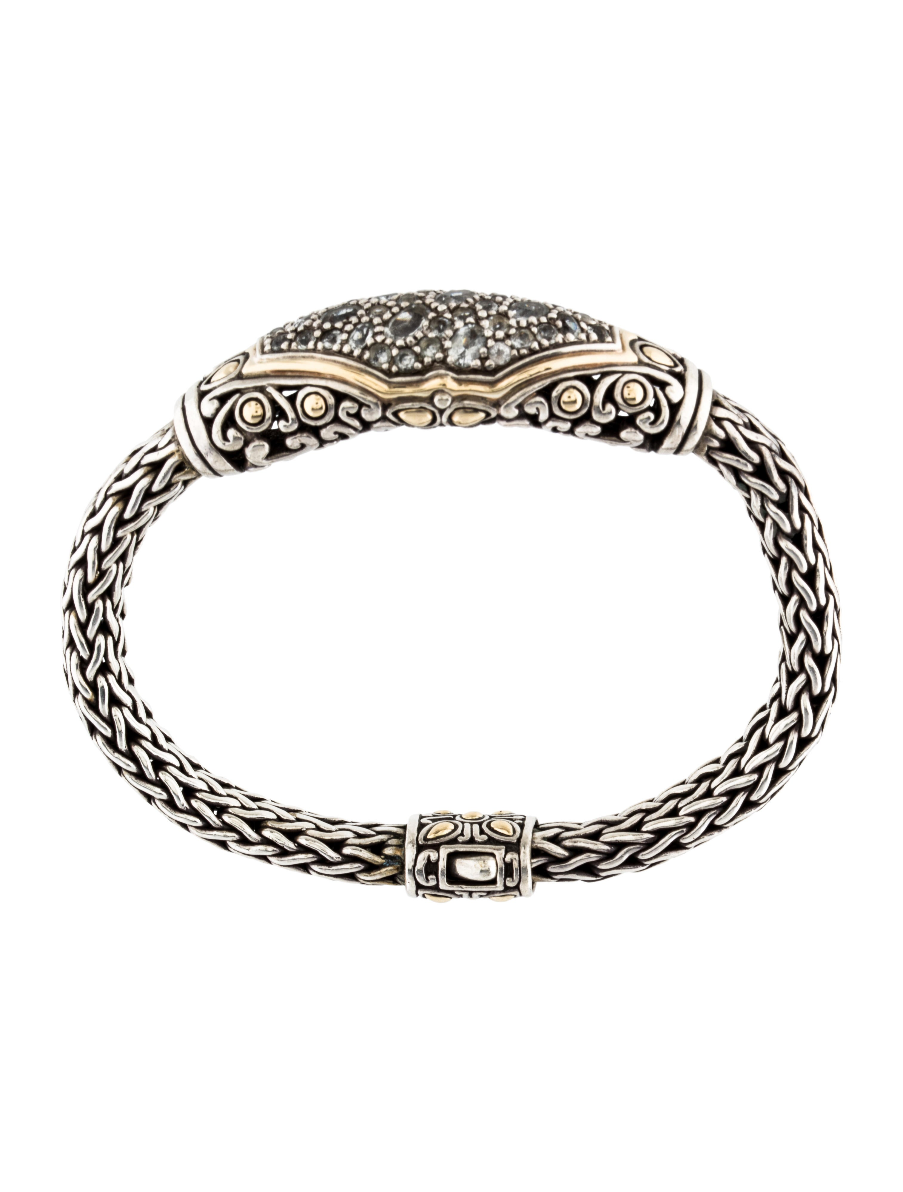 John Hardy Aquamarine Classic Chain Bracelet Bracelets