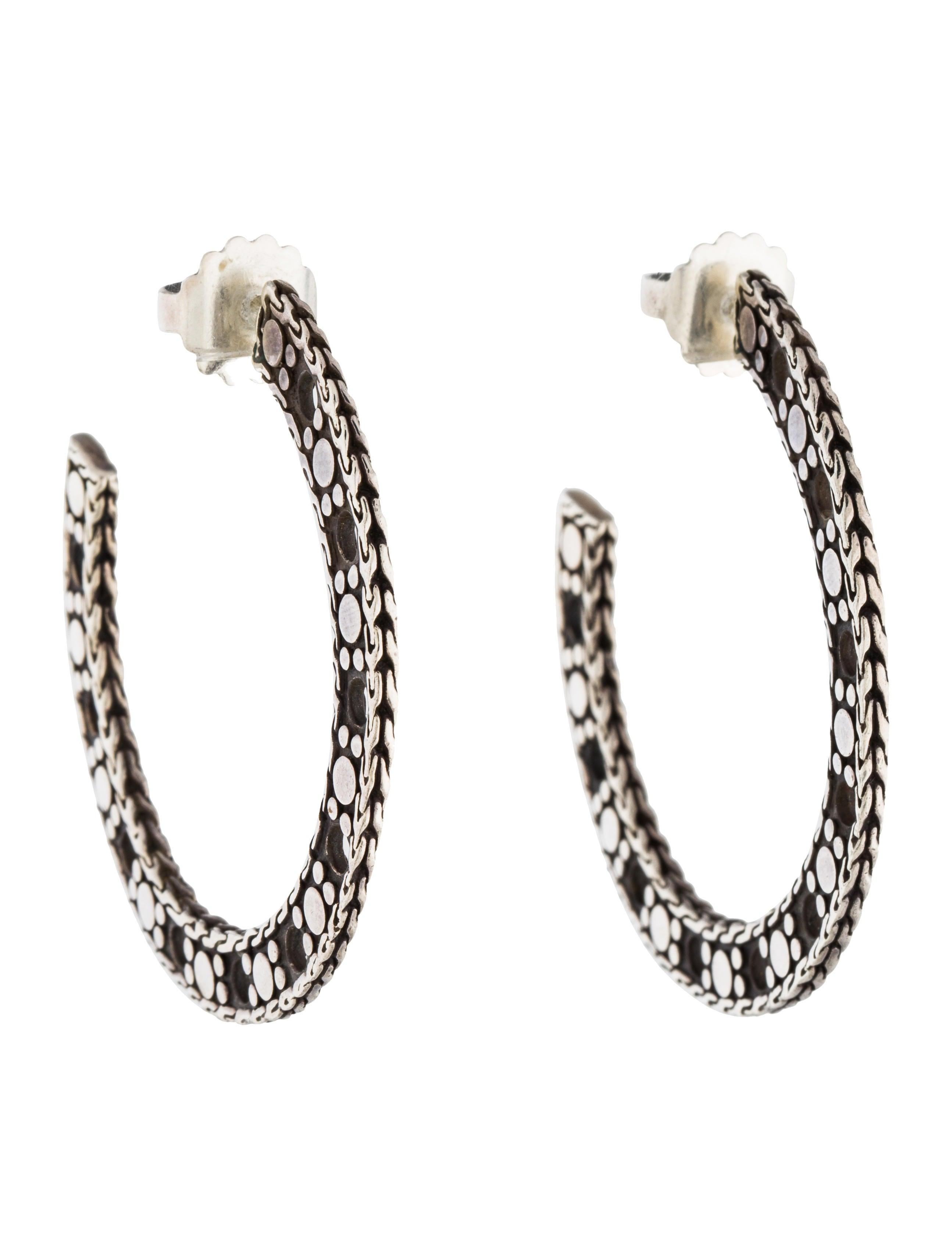 John hardy hoop earrings earrings jha27650 the realreal for John hardy jewelry earrings