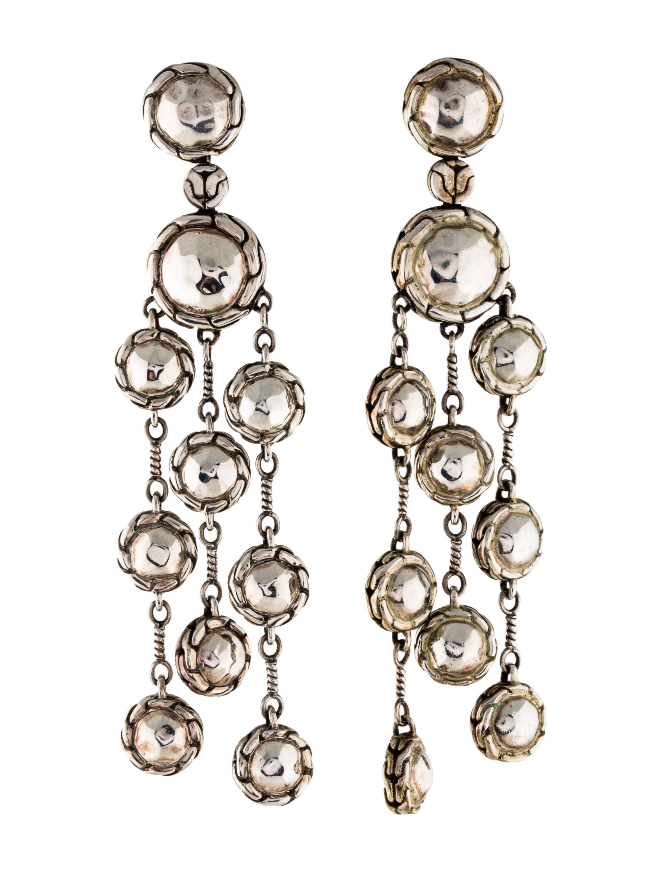 John hardy palu chandelier earrings earrings jha28064 for John hardy jewelry earrings