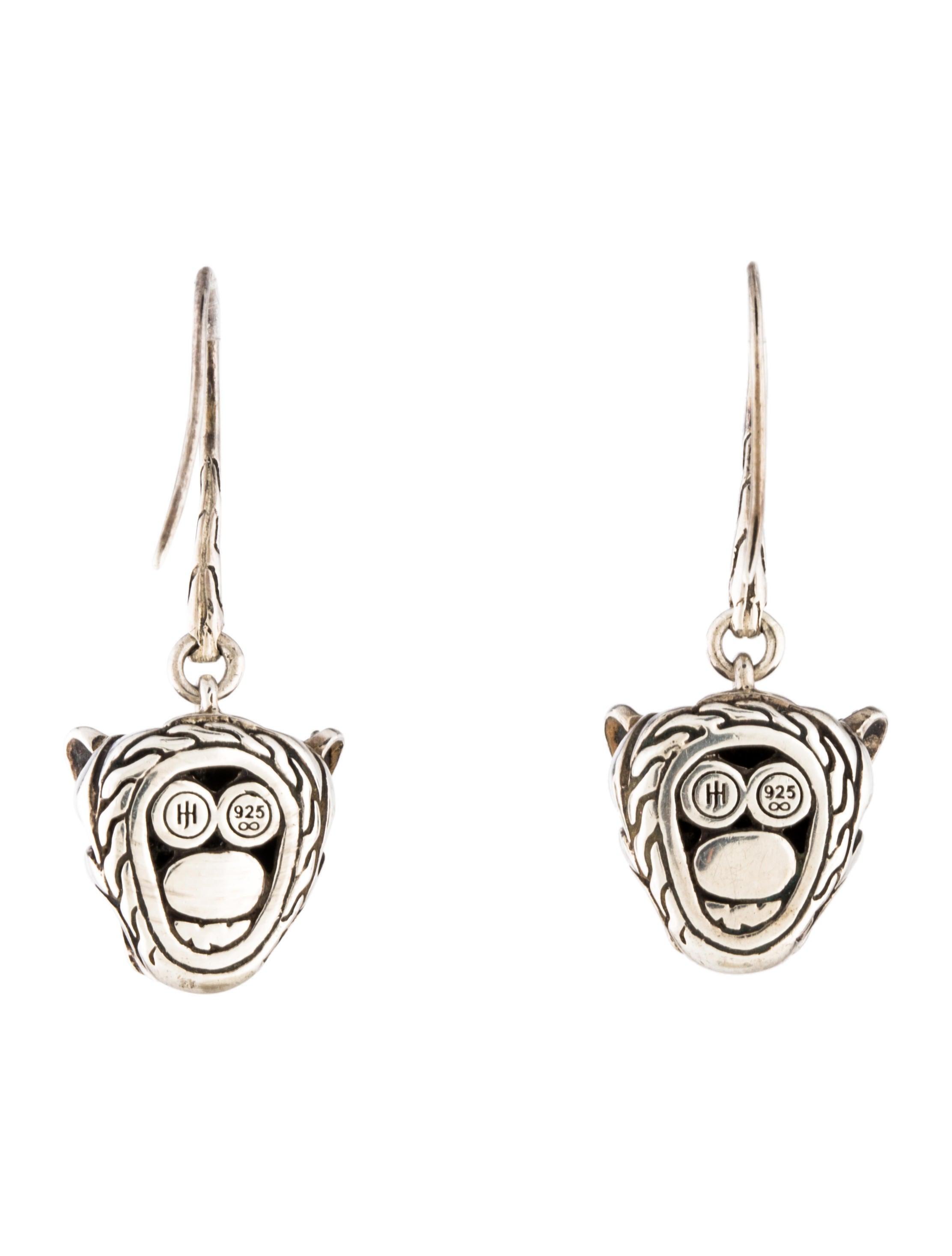 John hardy black sapphire black spinel blue topaz macan for John hardy jewelry earrings