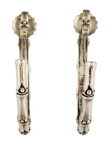John hardy bamboo hoop earrings earrings jha28208 for John hardy jewelry earrings