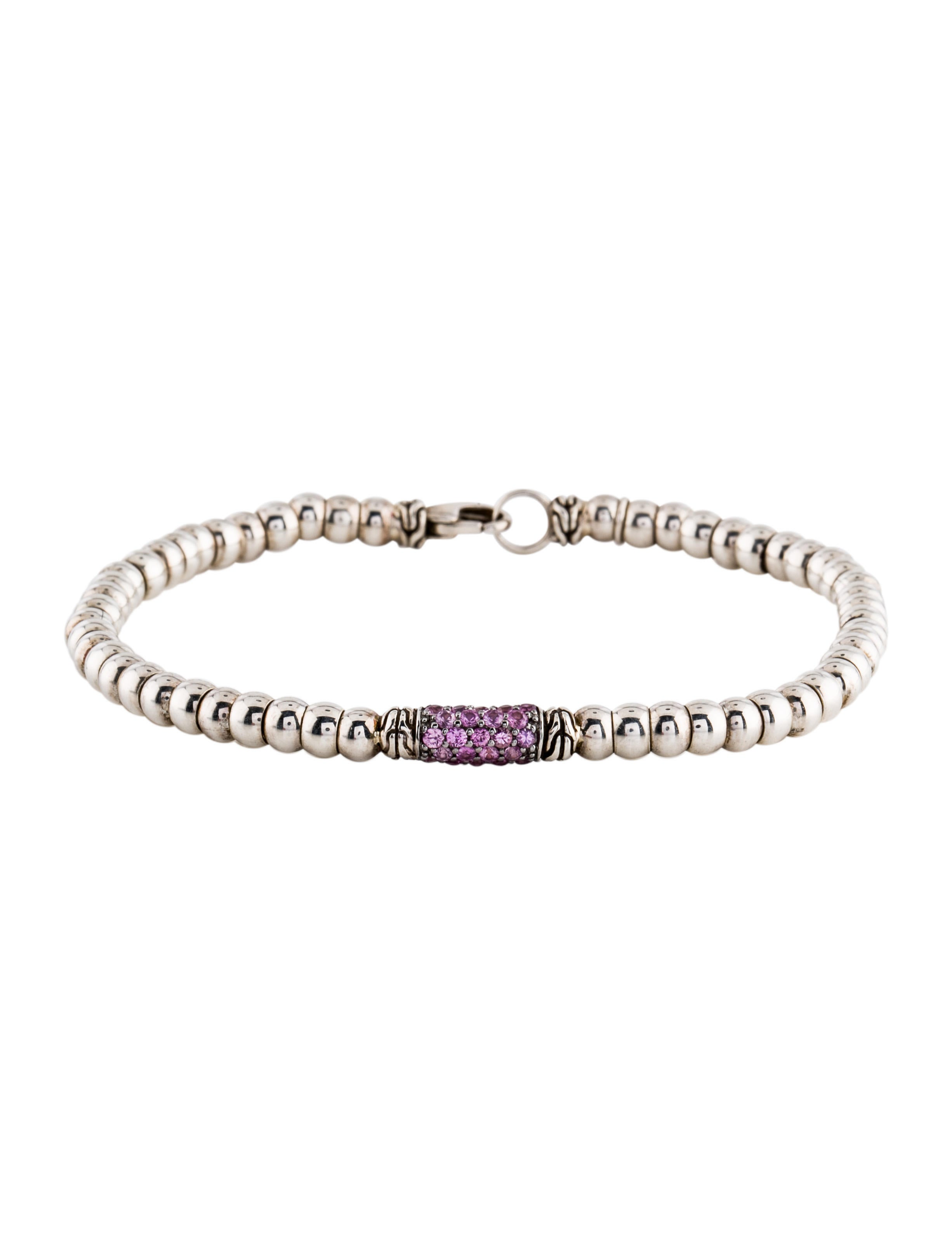 rose pink lyst fernando bracelet in sapphire jewelry jorge product gold gallery normal