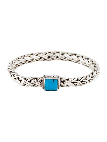 John Hardy Classic Chain Bracelet With Turquoise Xs Natural arizona turquoise YndVMSBGK