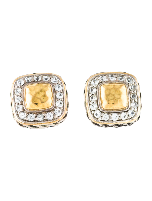 b727d1bf6 John Hardy Sapphire Classic Chain Earrings - Earrings - JHA31649 ...