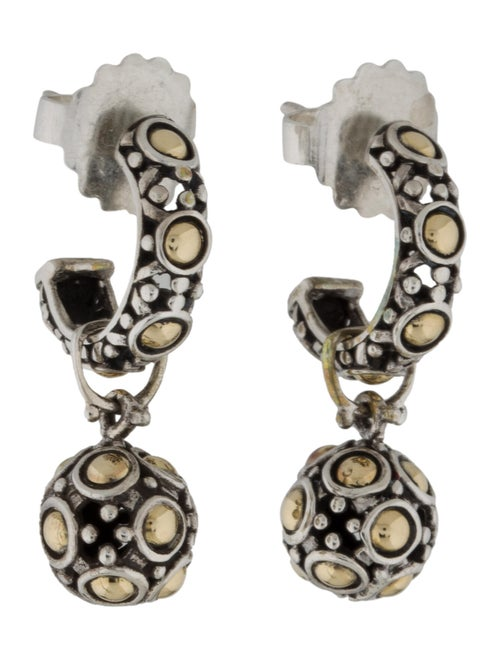 John Hardy Jaisalmer Drop Earrings silver