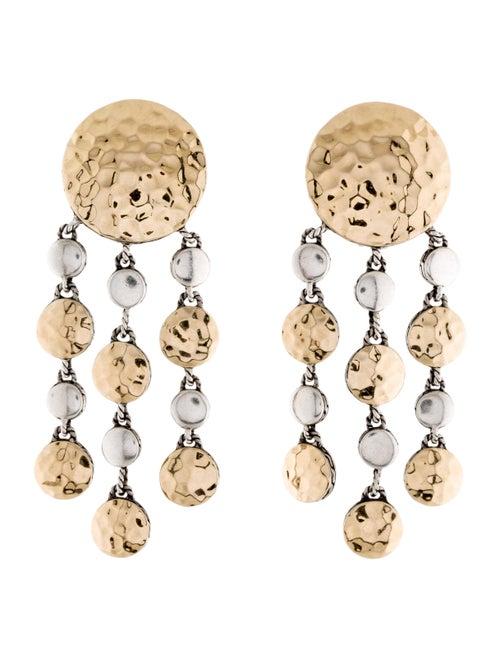 John Hardy Palu Chandelier Earrings silver