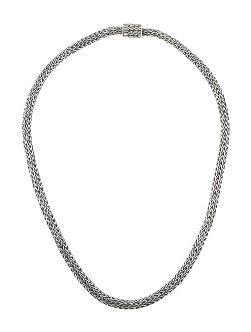 John Hardy Classic Chain Necklace Silver