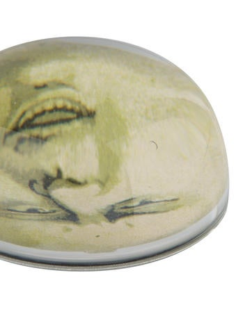 Set of 2 Dome Paperweights