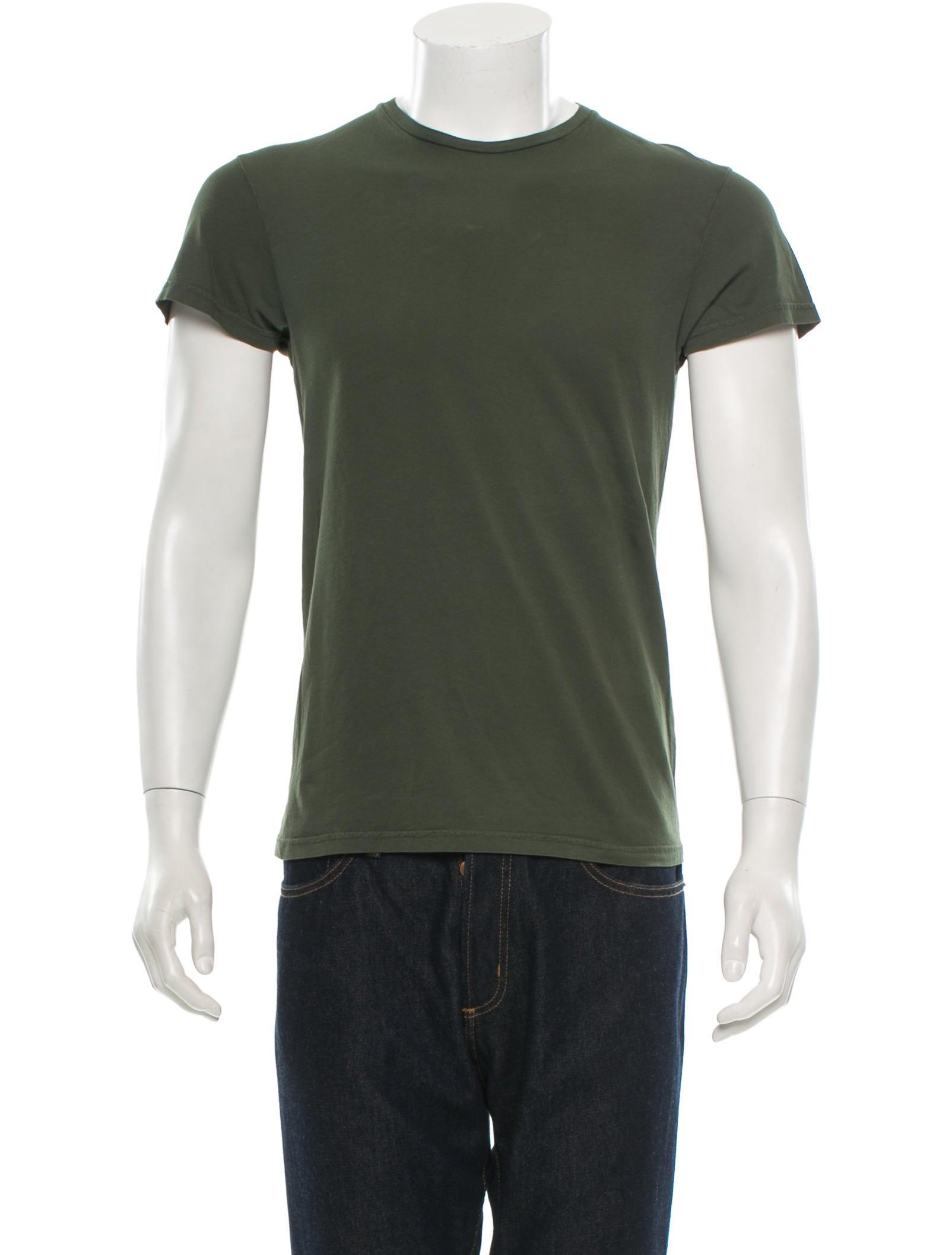 Jil sander t shirt clothing jil26138 the realreal for Jil sander mens shirt
