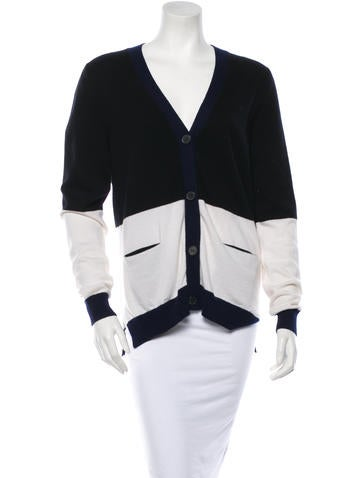 Cashmere Colorblock Cardigan w/ Tags