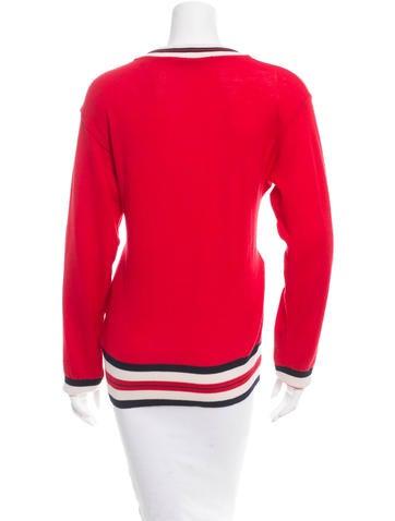 Wool Varsity Sweater